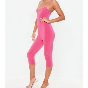 Other - Misguided pink unitard